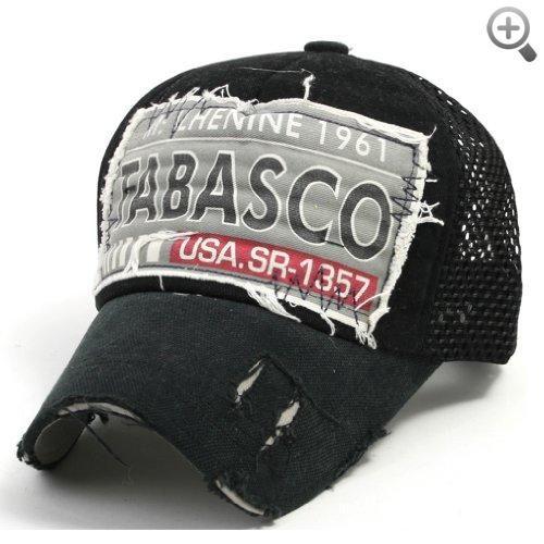 ililily Distressed Vintage Mesh Baseball Cap Snapback Trucker Hat ... 3c5aed089538