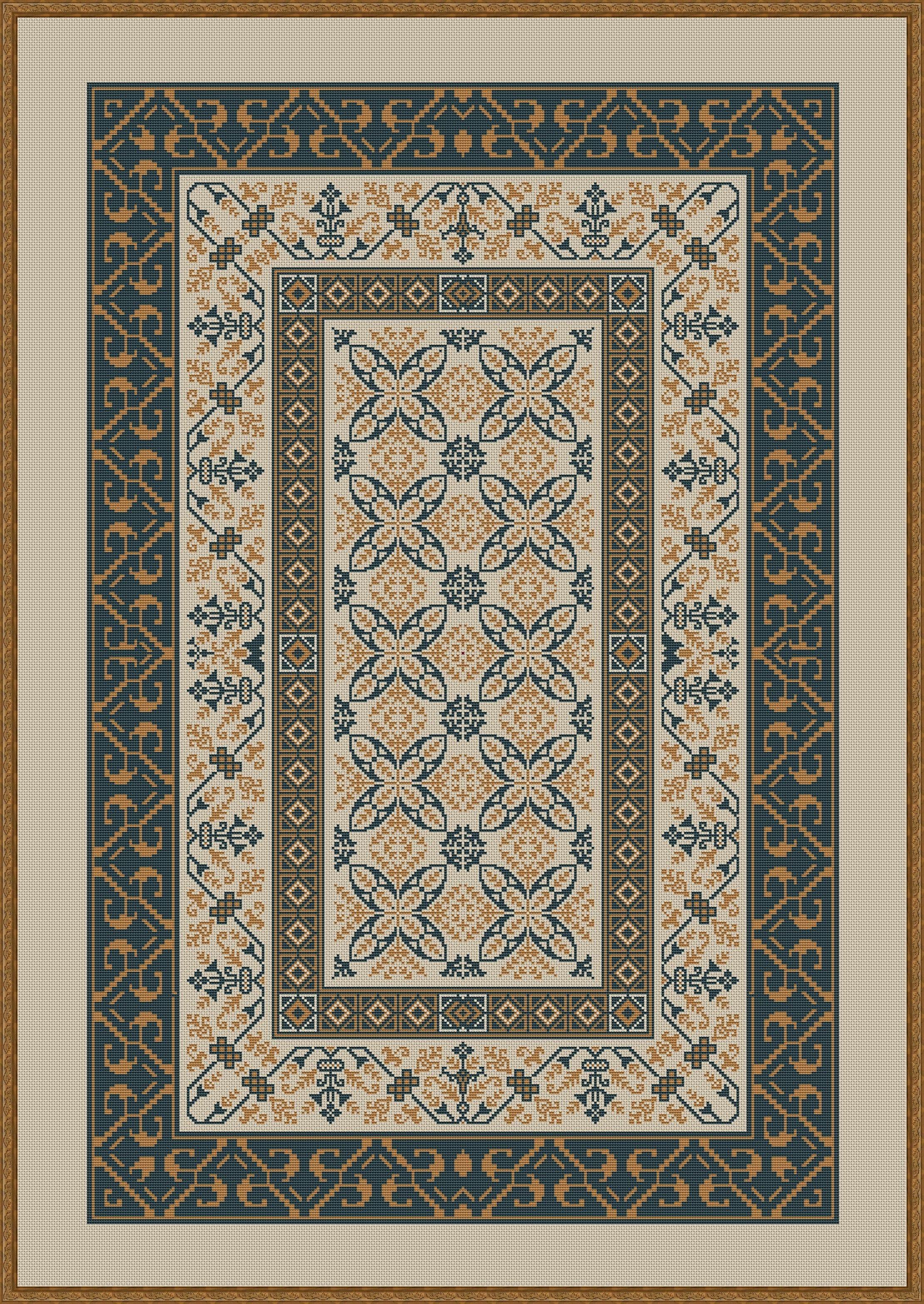 aztec inspired teppich kn pfen teppich kn pfen und kn pfen. Black Bedroom Furniture Sets. Home Design Ideas
