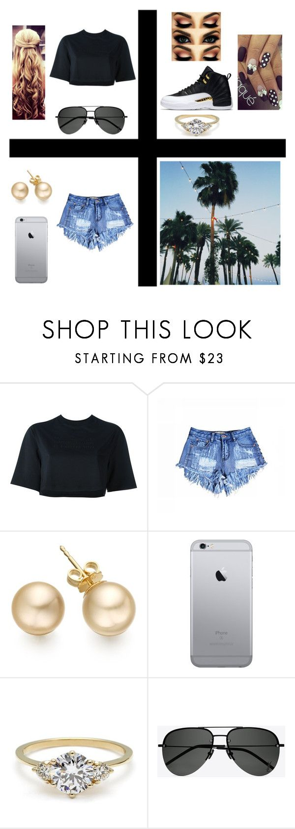 """""""Right Here RIght Now"""" by gabby4realz on Polyvore featuring NIKE and Yves Saint Laurent"""