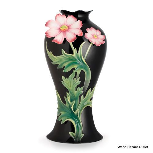 FZ02622 Franz Porcelain Cosmos flower design Ltd edition Amazing