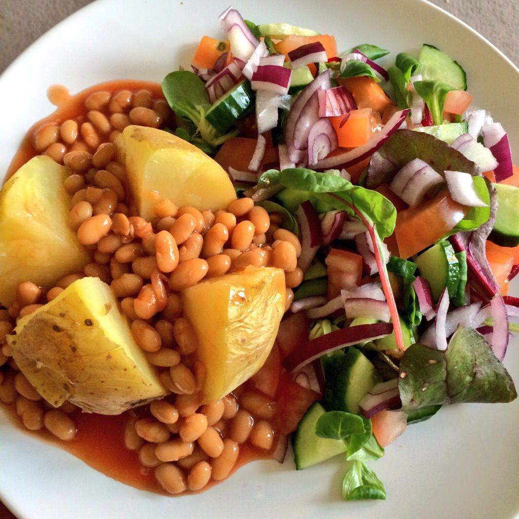 Slimming World Syn Free Jacket Potato Bean Salad