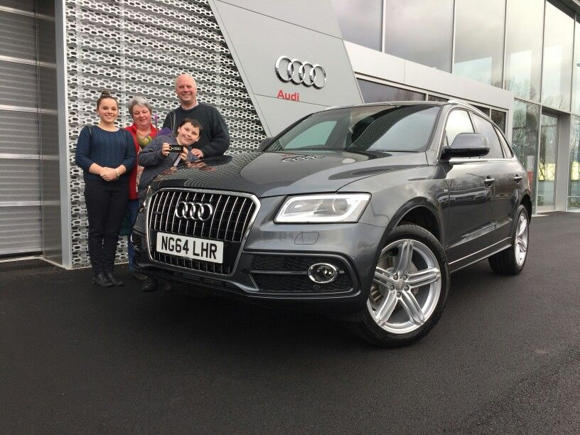 Our new car. From Newcastle Audi