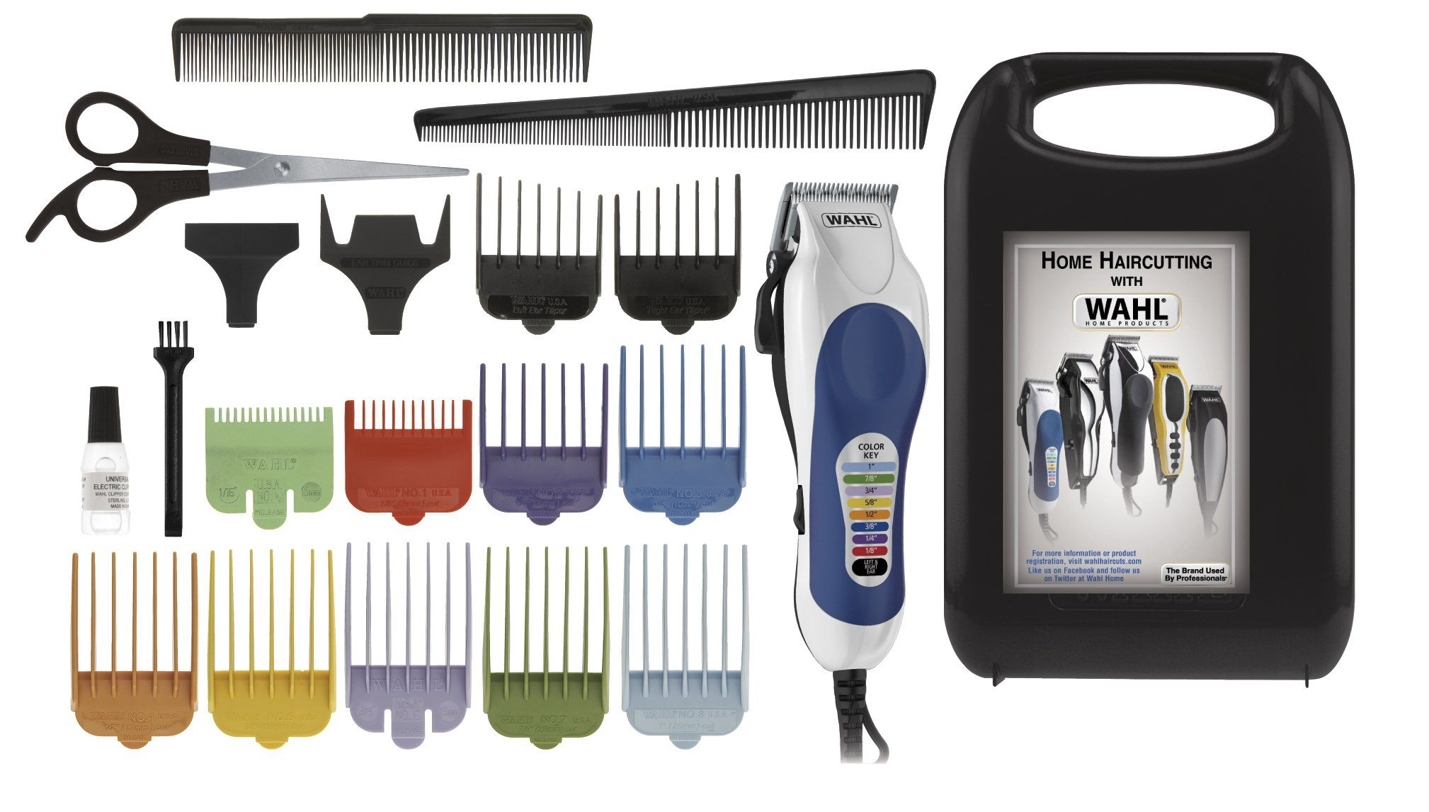 Wahl Color Pro 20 Piece Haircutting Kit Only 17 99 Hair Clippers Hair Trimmer Hair Removal Machine