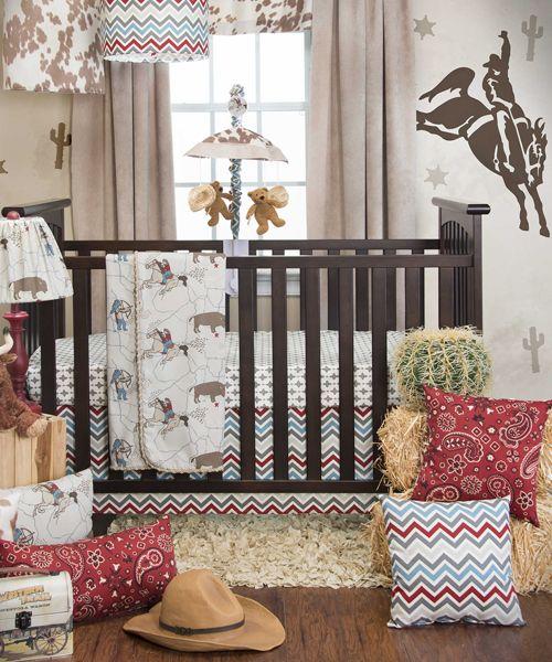 Cowboy Baby Bedding Glenna Jean, Western Baby Bedding Crib Sets