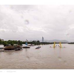 The Danube floods in Vienna, Austria, June 2013