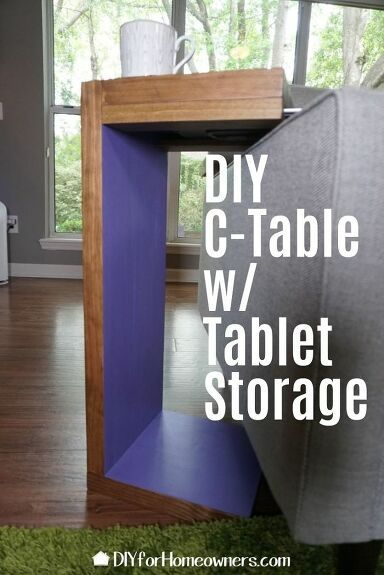 How to Build a DIY C-Table for your Living Room