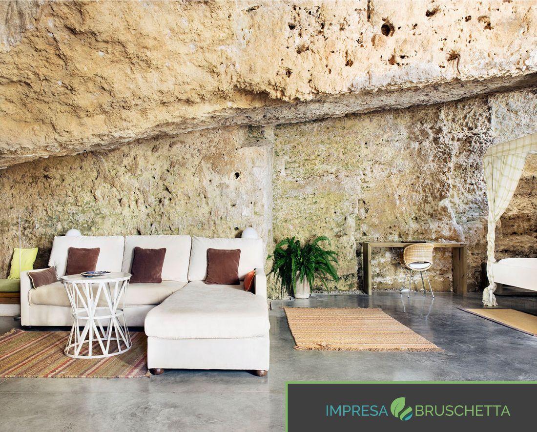 3 La Casa Nella Roccia Scavare Nella Roccia Un Impresa  # Muebles Sequeira Plasencia
