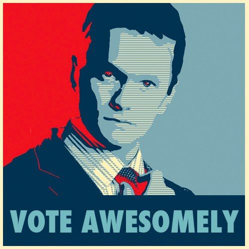 Vote awsomely - Barney Stinson
