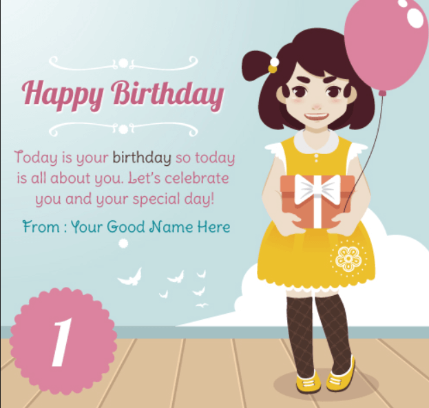 Birthday Quotes For Kid Girl Archidev