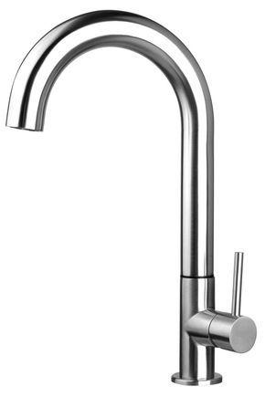 Stainless Steel 607636, Edelstahl Küche   Bad Armatur gebürstet