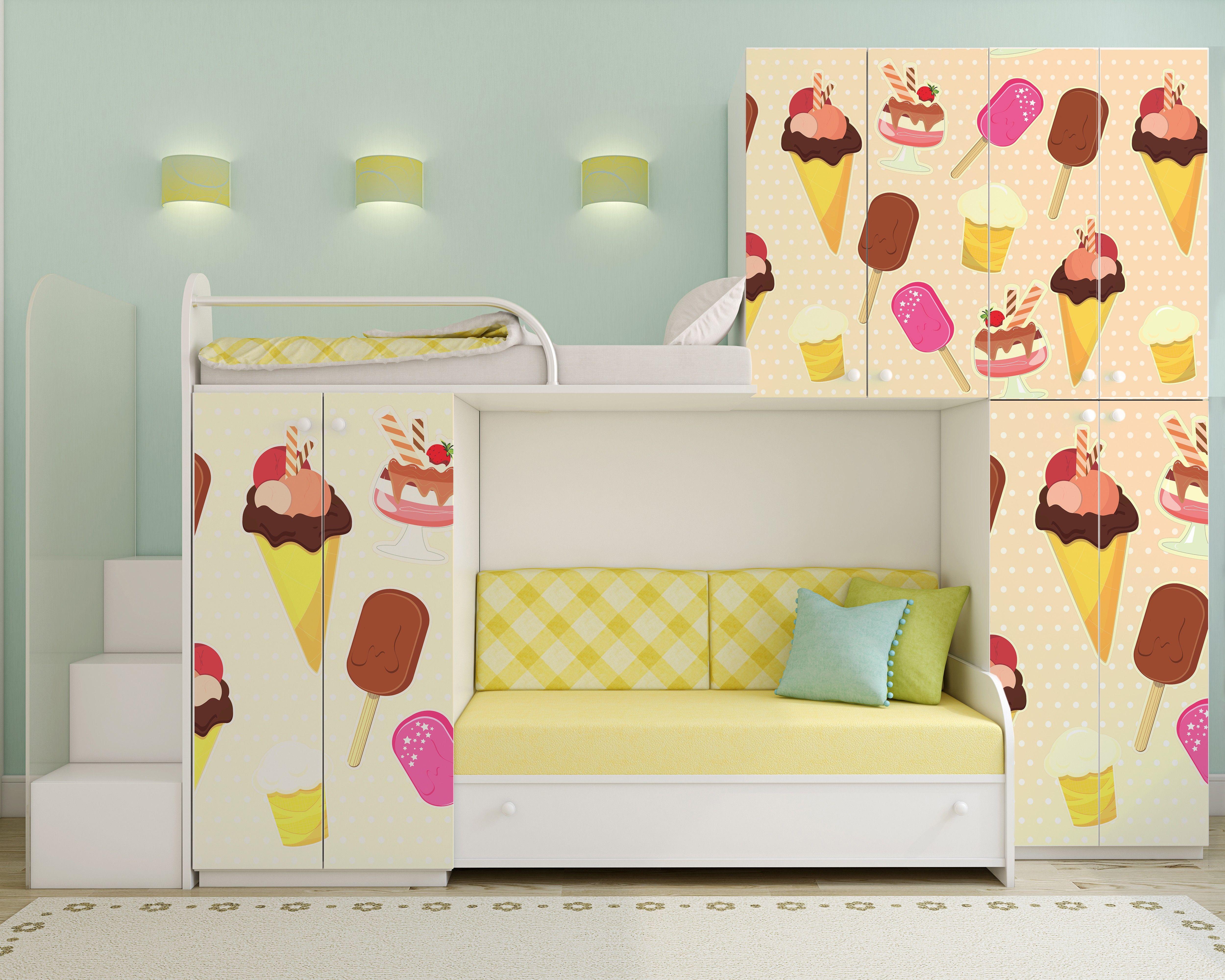 Klebefolie Kinderzimmer ~ Ikea kommode mit kreativen griffen versehen kinderzimmer