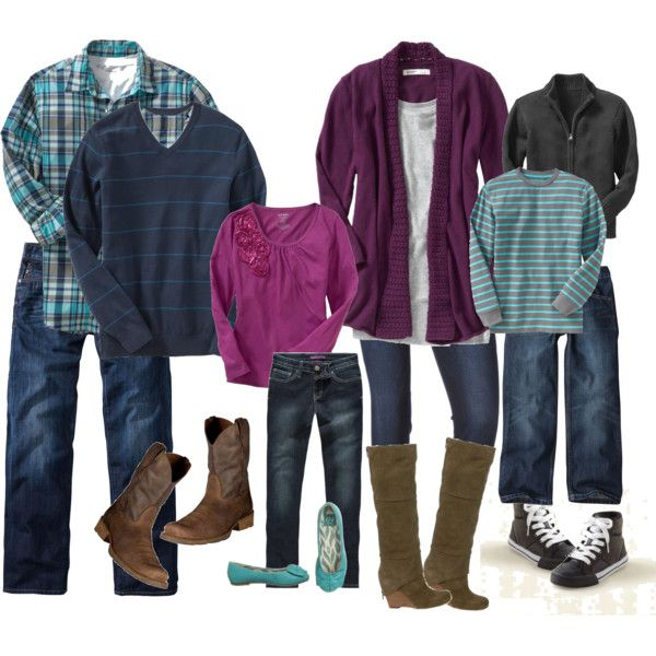 2011 Family Photo Session Outfit Planning #familyphotooutfits