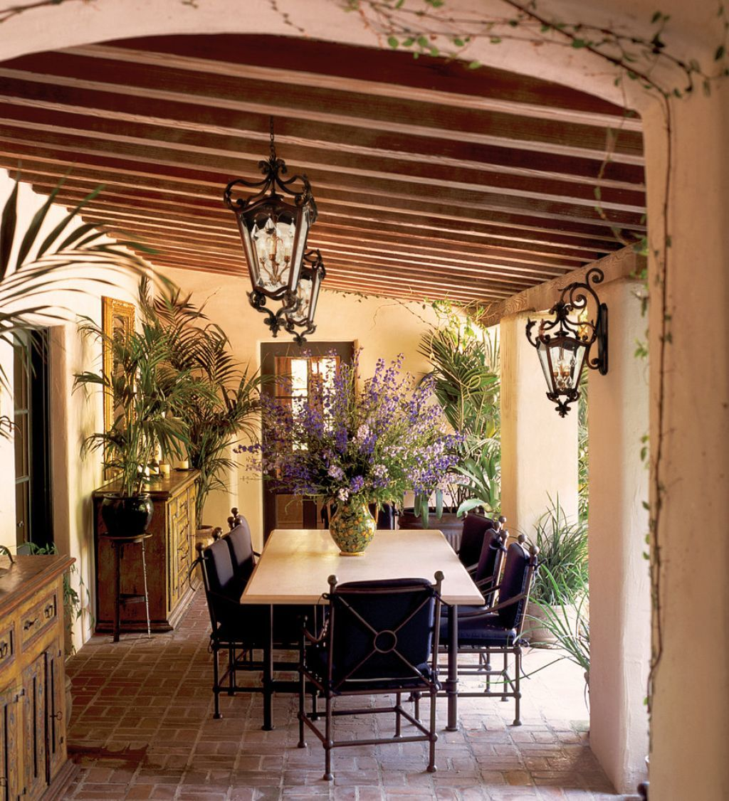 outdoor , mediterranean patio ideas; excellent addition to your ... - Outdoor Lighting Patio Ideas