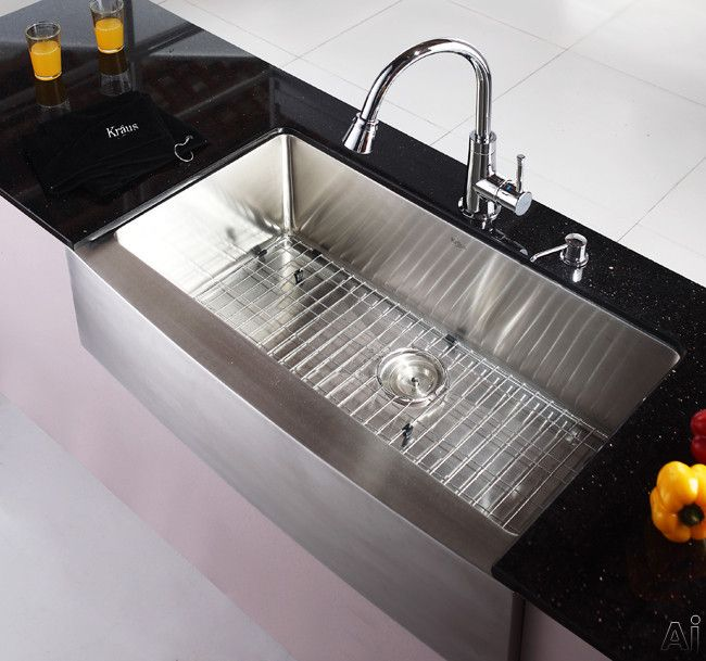 Kraus Standart Pro Undermount Sink Satin Finish Khf20036