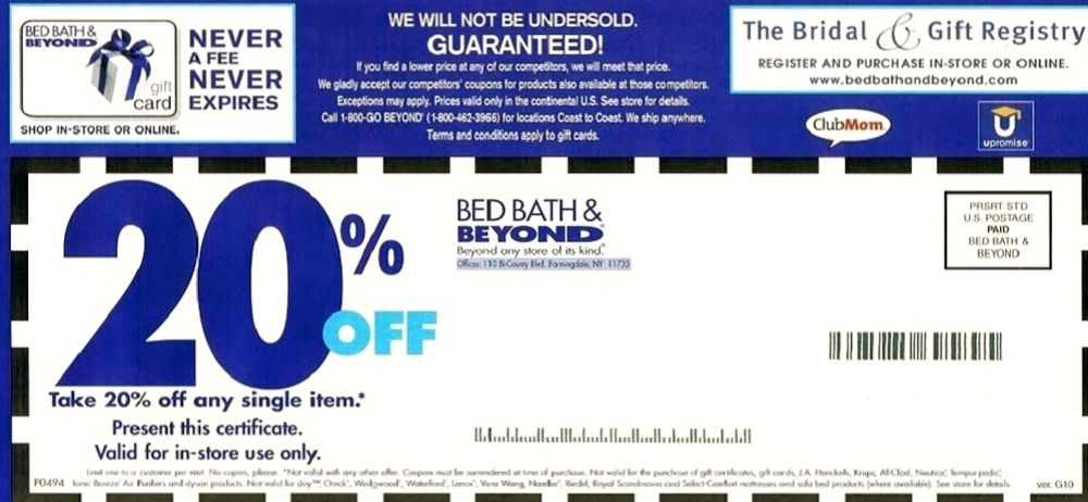 Bed Bath and Beyond Coupon   Bed Bath   Beyond is one of the largest  companies. Bed Bath and Beyond Coupon   Bed Bath   Beyond is one of the
