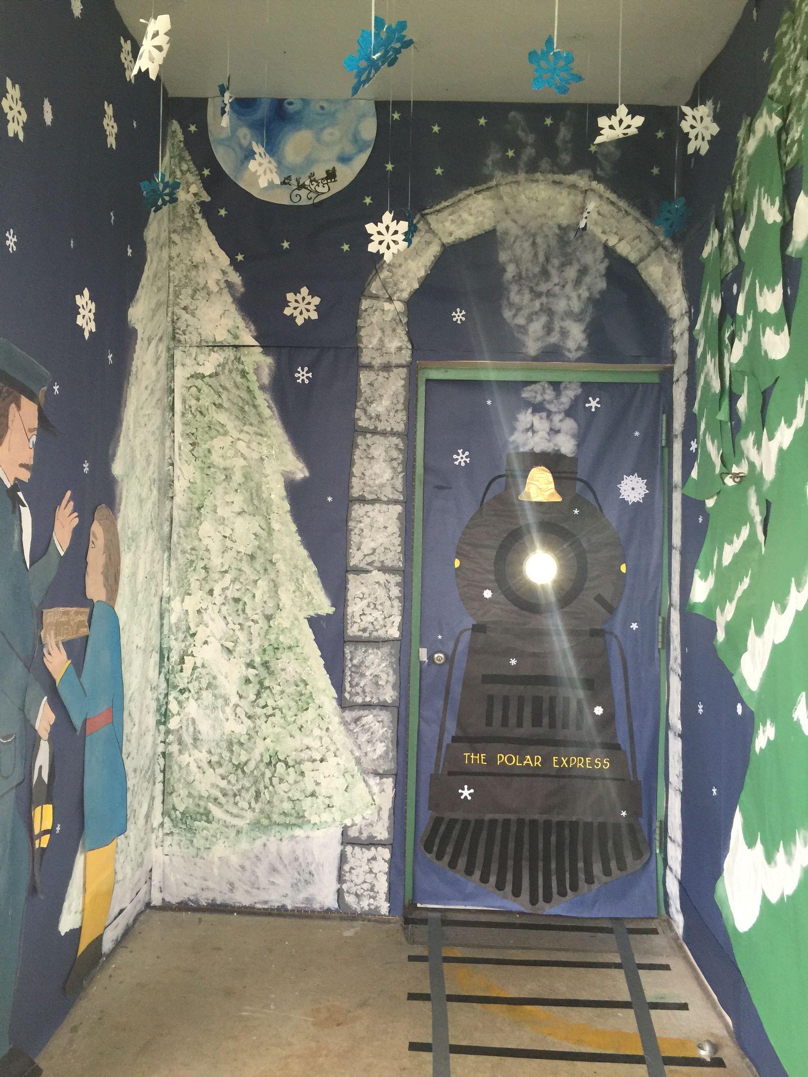 Polar Express Door Decorating Ideas The Polar Express