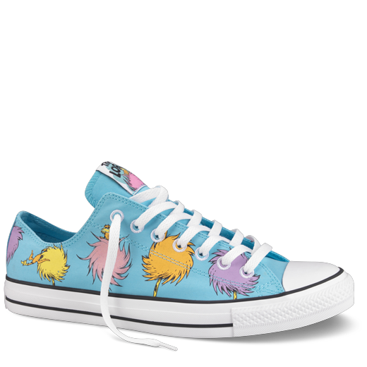 4a1dd19dbe6b Converse All Star Dr Seuss - I want these! Lorax Converse. Need these in  toddler size please !