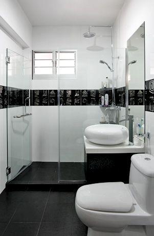 Bathroom layout