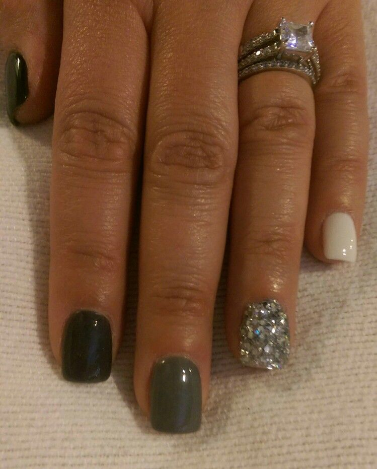 Nexgen Shades Of Grey With Images Nexgen Nails Nails Nexgen