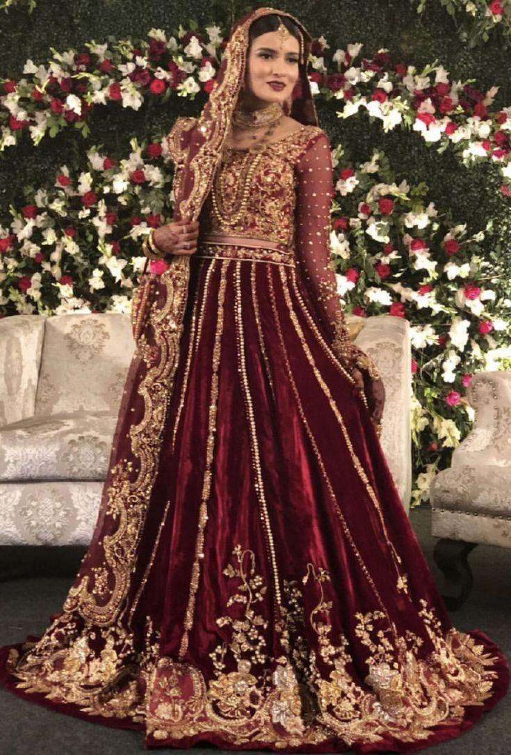 Pakistani barat Bride  Asian bridal dresses, Desi wedding dresses