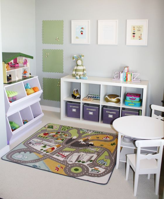 ~Toy Room Organisation~ Expedit Units Or Units Which Hold Baskets Are  Perfect. Separate The Toys Into Categories And Donu0027t Forget To Label The  Baskets.