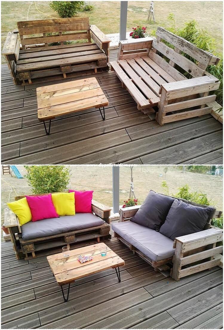 Cheap Diy Ideas With Recycled Wood Pallets Mobilier De Salon Meuble Palette
