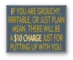 I think every place that deals in customer service should have this hanging up!