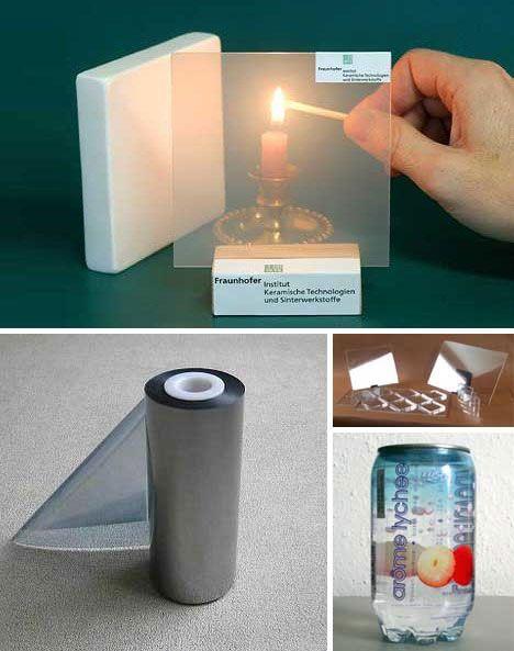 Transparent Aluminum - Aluminum oxide is the main component
