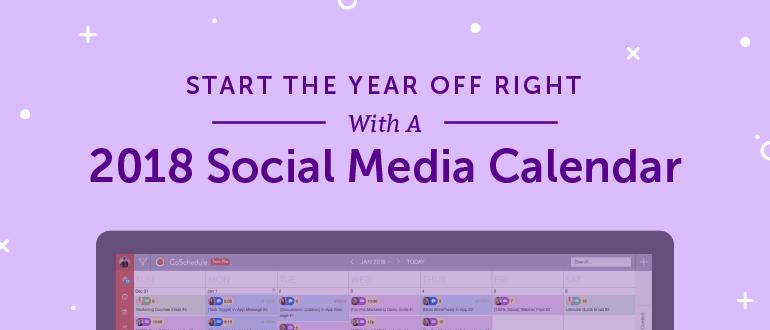 Social Media Content Calendar How To Easily Plan Every Post - Social media calendar template 2018