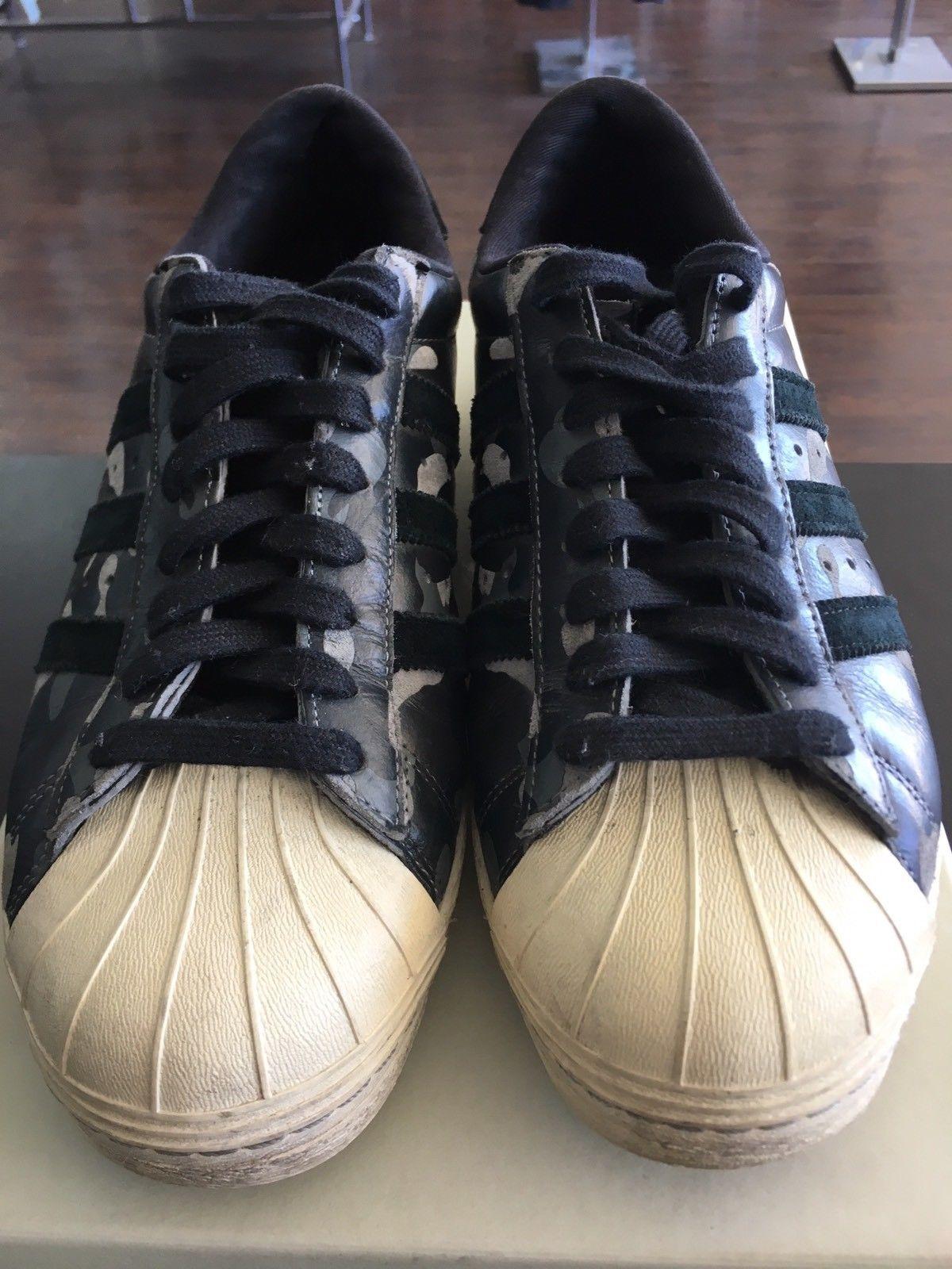 half off 83910 2b28c Details about Adidas Men's Black/White Superstar 80's DECON ...