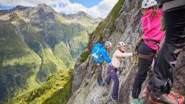 Klettersteig Norddeutschland : Klettersteig u201elittle ballunu201c © tvb paznaun ischgl reisen