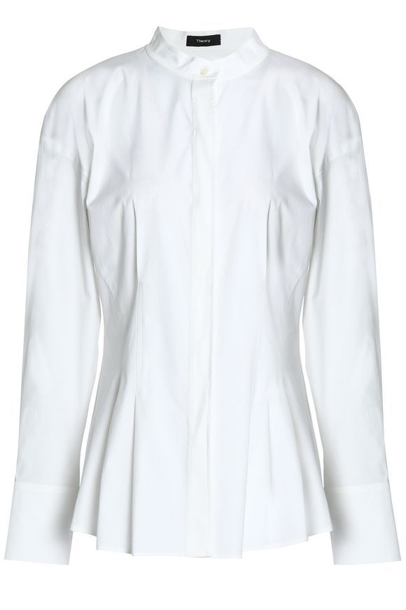 ccd28bf2038e Stretch-cotton poplin shirt