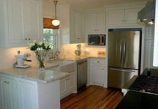 Maison Decor 180 Fx Marble Counter Top Small White Kitchens Kitchen Redo Small Kitchen