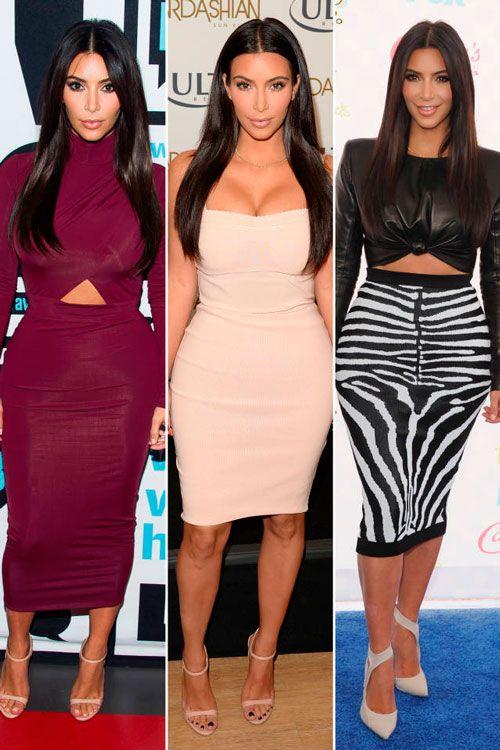 Знаменитости в обтягивающих платьях