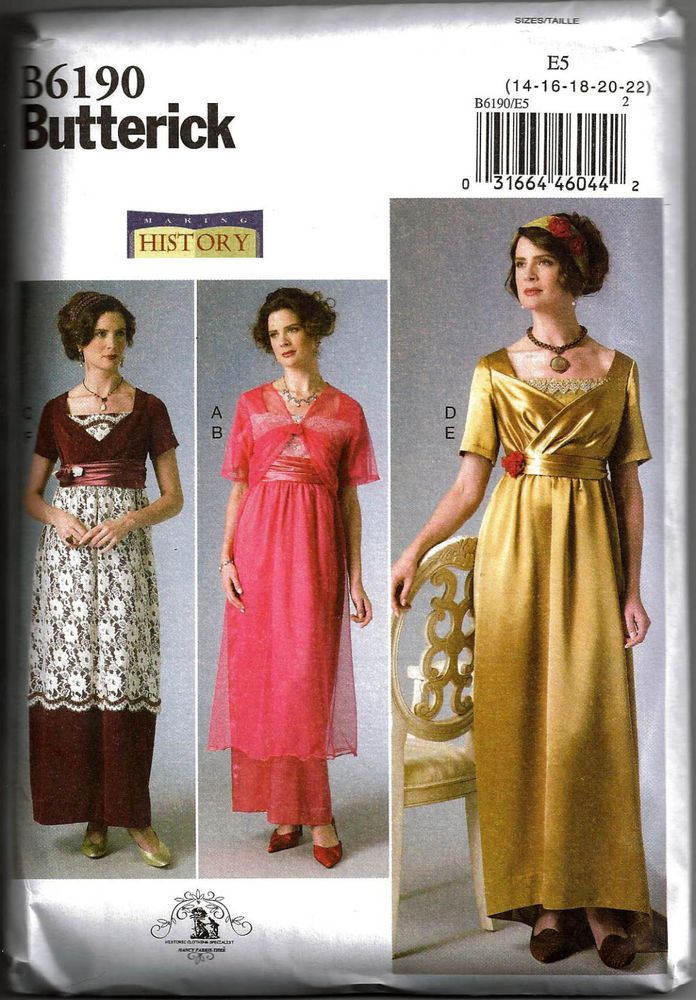 Butterick B6190 pattern - Startpage Picture Search | Helena - Hannah ...