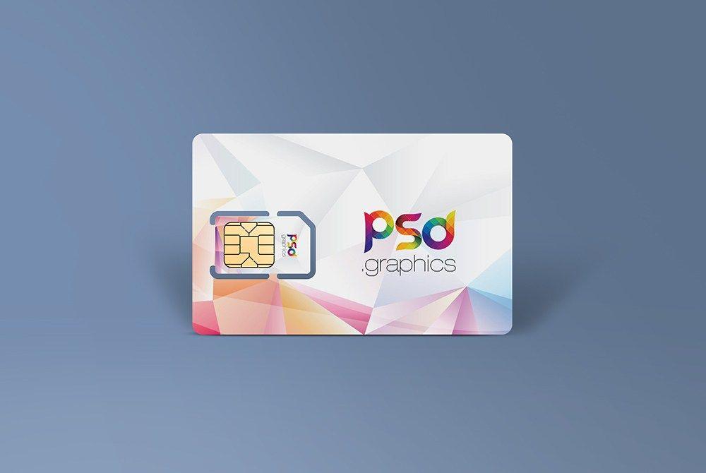 Awesome Sim Card Mockup Free Psd Download Sim Card Mockup Free Psd Showcase Your Sim Card Design Artwork On This Mockup Free Psd Free Mockup Free Psd Design