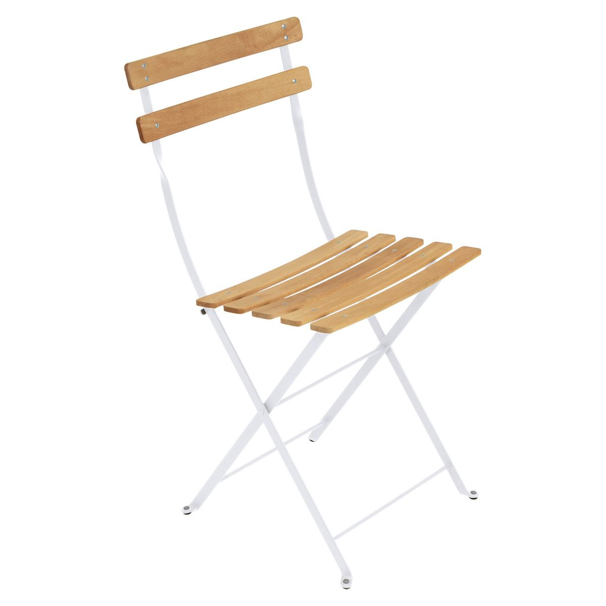 Fermob Bistro Klappstuhl Naturel Baumwollweiss Folding Chair