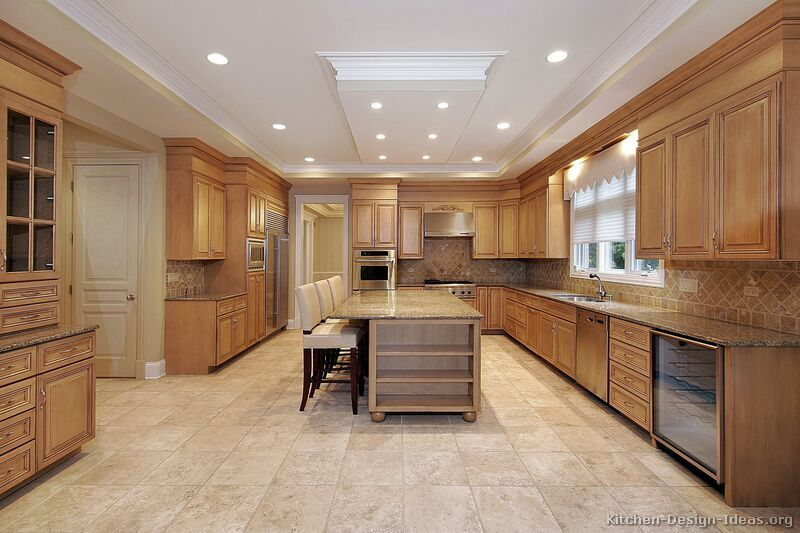 Traditional Light Wood Kitchen Cabinets 113 Kitchen Design Ideas Org Luxury Kitchen Design Light Wood Kitchens Kitchen Design