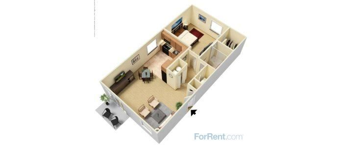 Shoshone Apartments  Bedroom   Deposit  Application