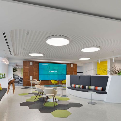 CBRE CORPORATE OFFICES Campus Architecture Pinterest Corporate Amazing Business Office Design