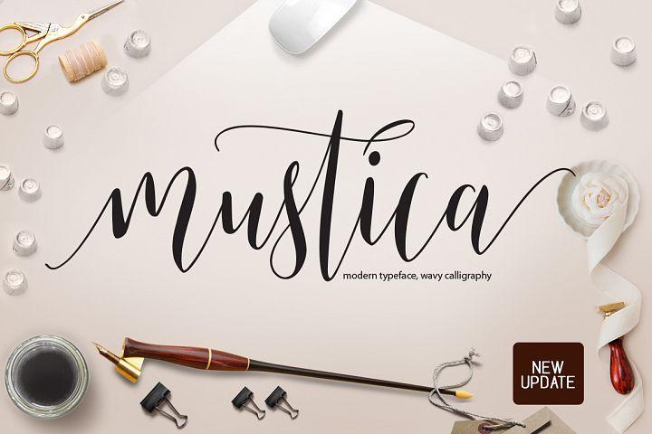 Mustica script | Script Fonts | Script fonts, Handwritten fonts