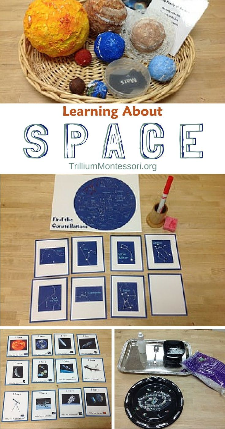 Learning About Space | Space preschool, Space classroom ...