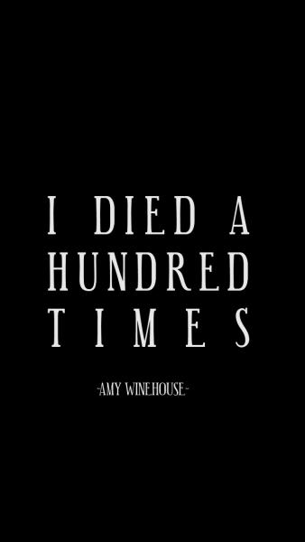 Lockzinhas Amy Winehouse Lyrics Amy Winehouse Quotes Amy Winehouse