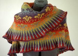 Eliza Shawl pattern by Robin Gallimore on Raverly