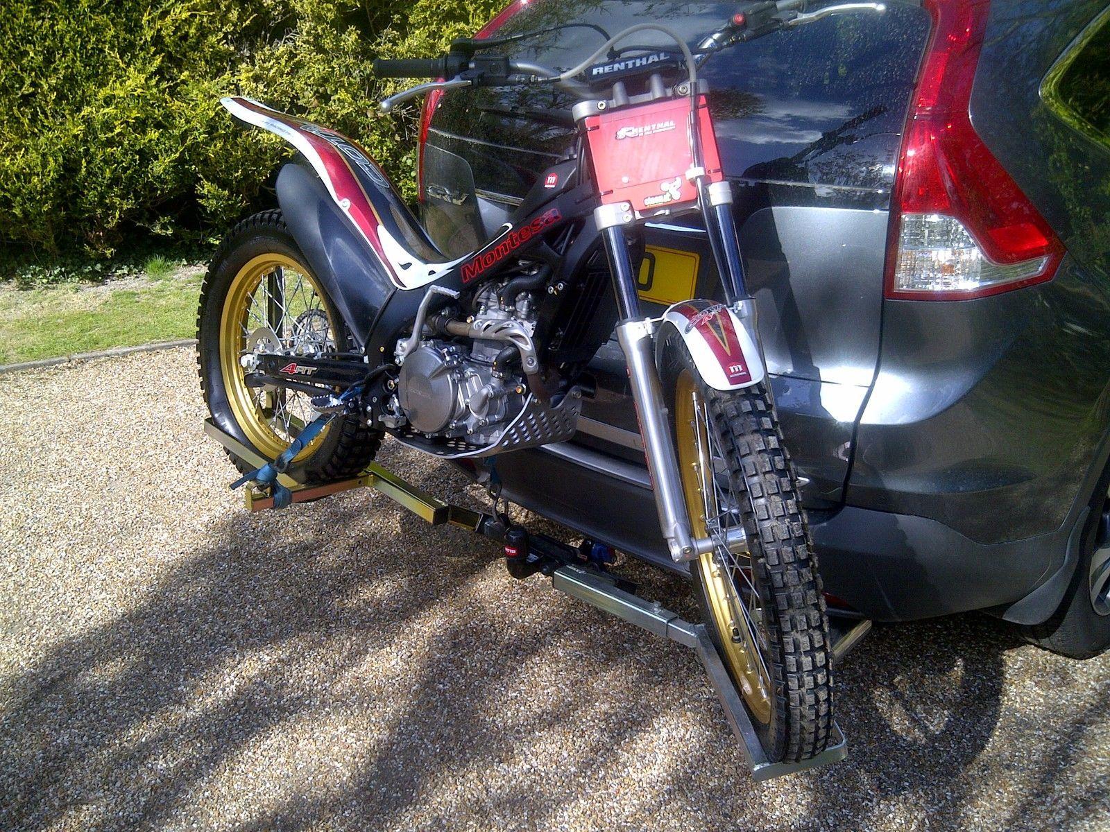 Trials Motocross Enduro 4x4 Motorbike Carrier Rack Ebay
