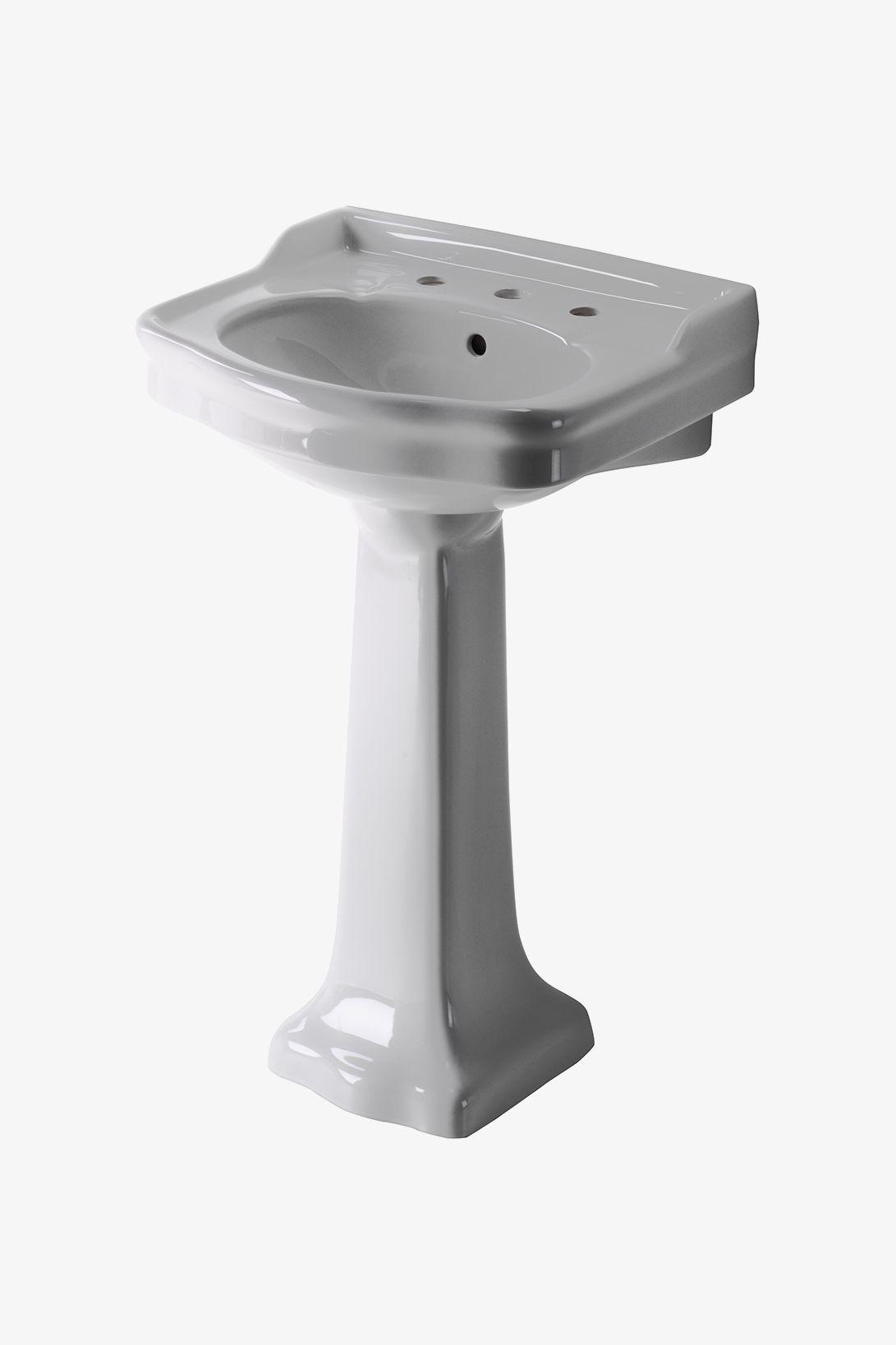 Discover palladio vitreous china pedestal lavatory sink