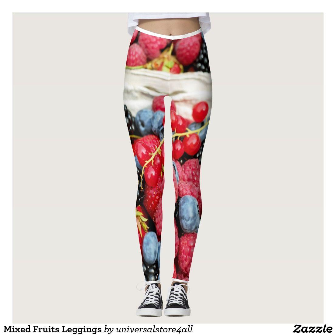 Mixed Fruits Leggings