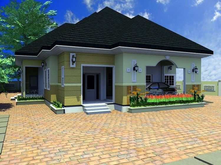 Four Bed Room Bungalow