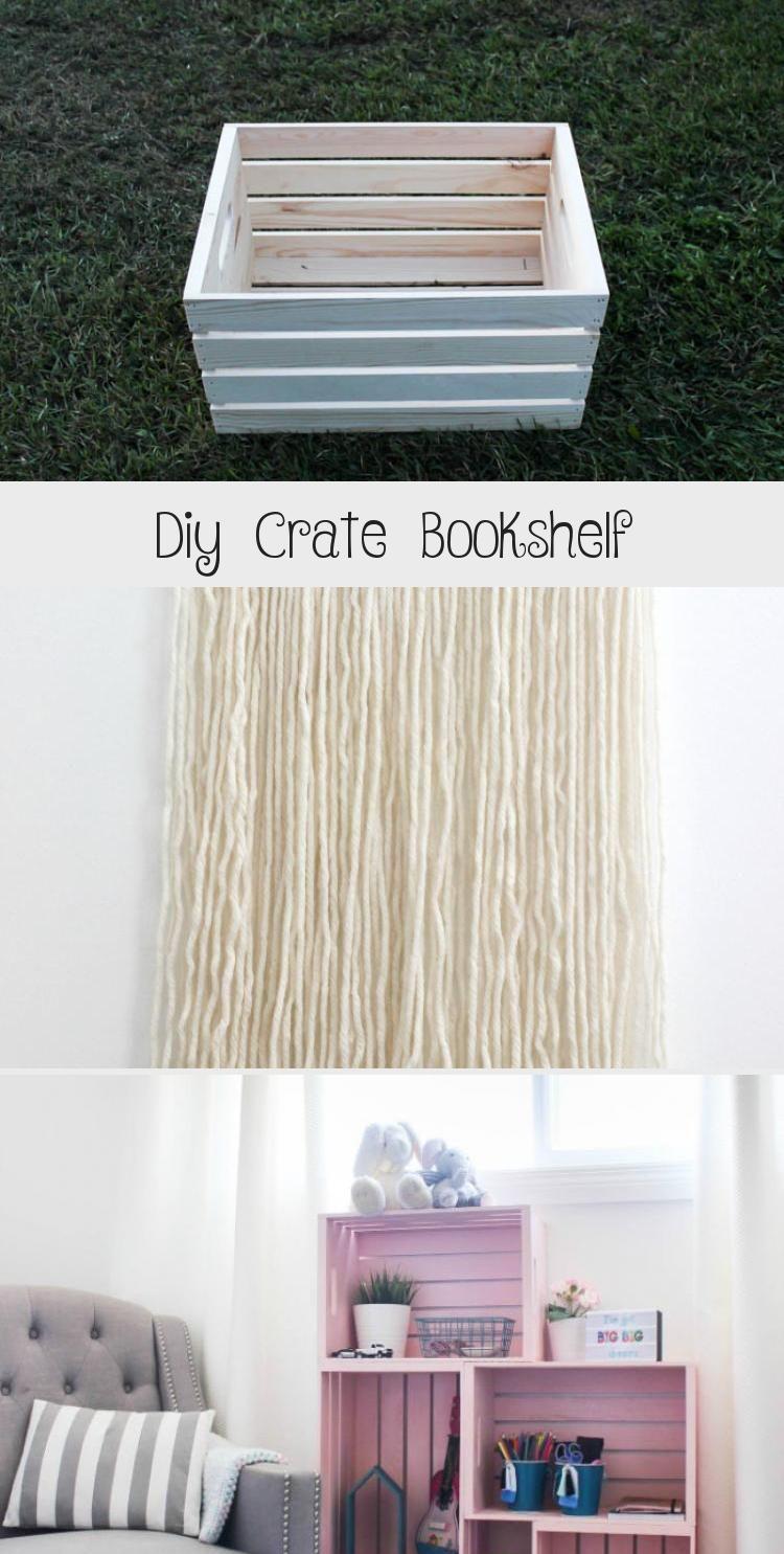 Photo of Beeindruckend! Erstaunliche Kisten-Bücherregalidee! Verwenden Sie Holzkisten und Sprühfarbe in einer einzigartigen …