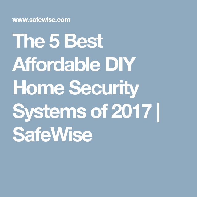 Do it yourself wireless home safety and security security systems do it yourself wireless home safety and security solutioingenieria Choice Image